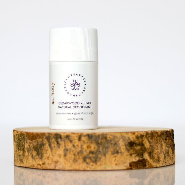 Cedarwood Vetiver Natural Deodorant
