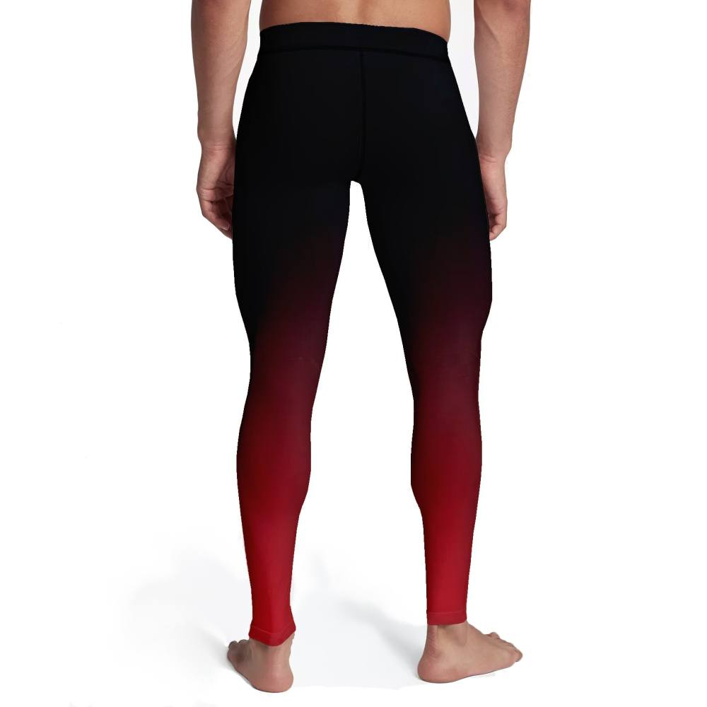 4a293e4b61388 ... Product - Men's Black Red Ombre Tights
