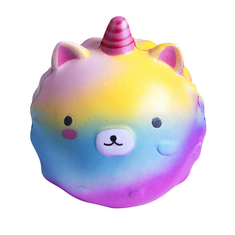Jumbo Unicorn Character Ball - Scented