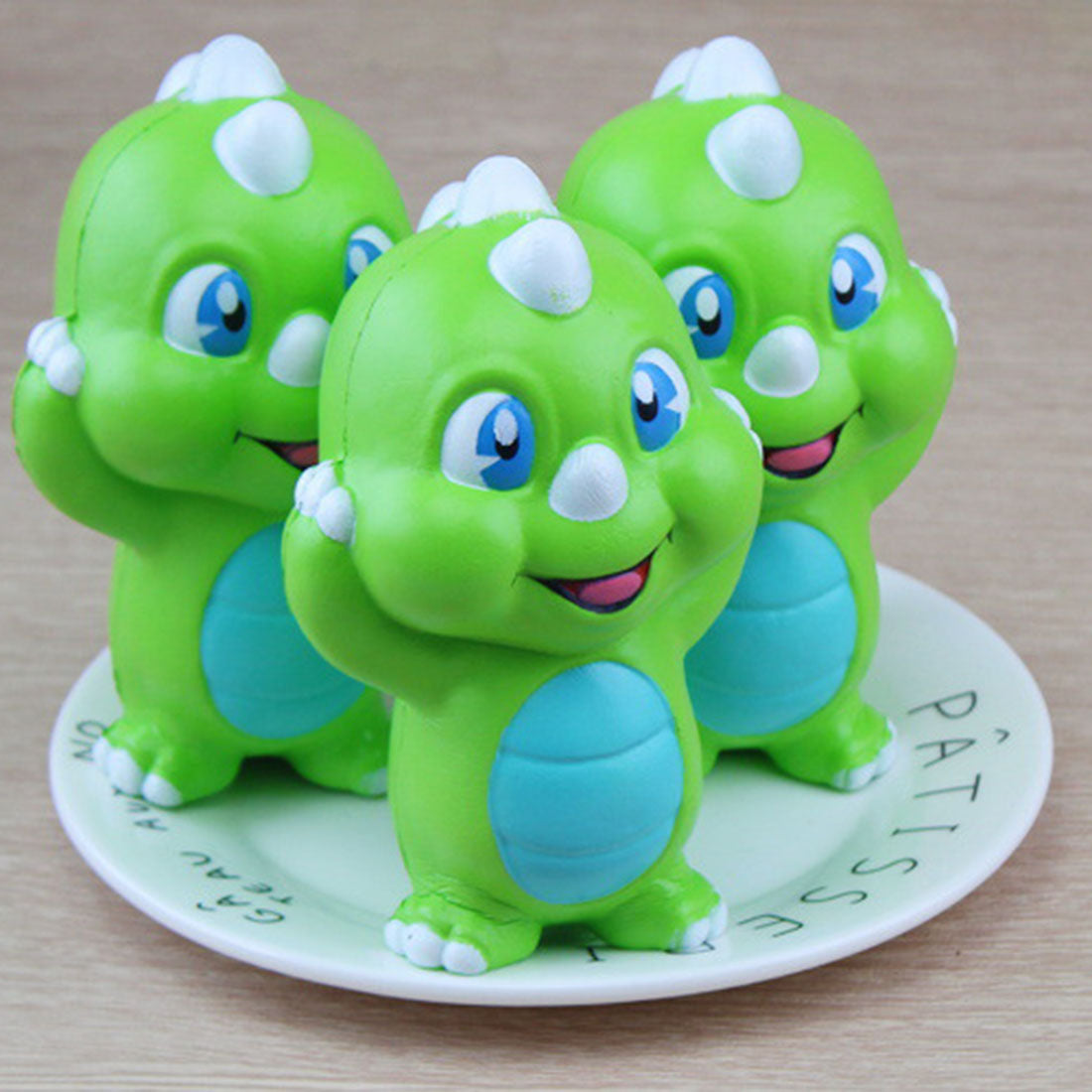 Jumbo Kawaii Green Dinosaur Baby Squishy