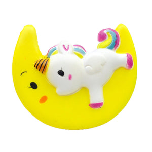 Large Unicorn Moon Scented Slow Rise Squishy Toy