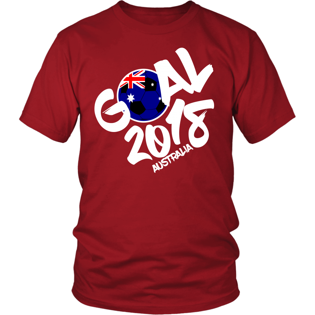 Australia - Goal 2018 Unisex T-Shirt – Swift Kick In The Grass 8ce0547b5