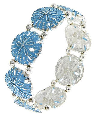 Sand Dollar Stretch Bracelet