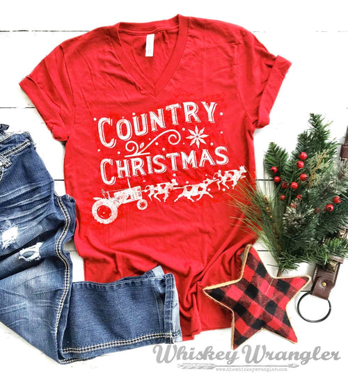 Country Christmas Tee