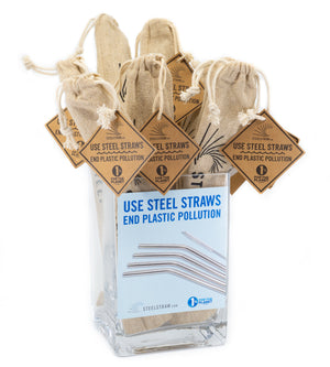Wholesale Single - Straight Metal Straw Gift Set