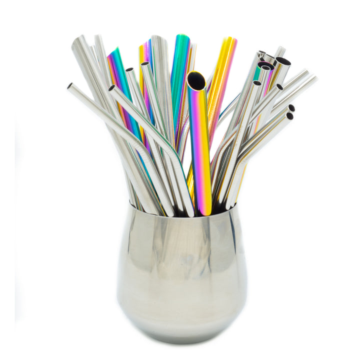 Custom Metal Straw Gift Set