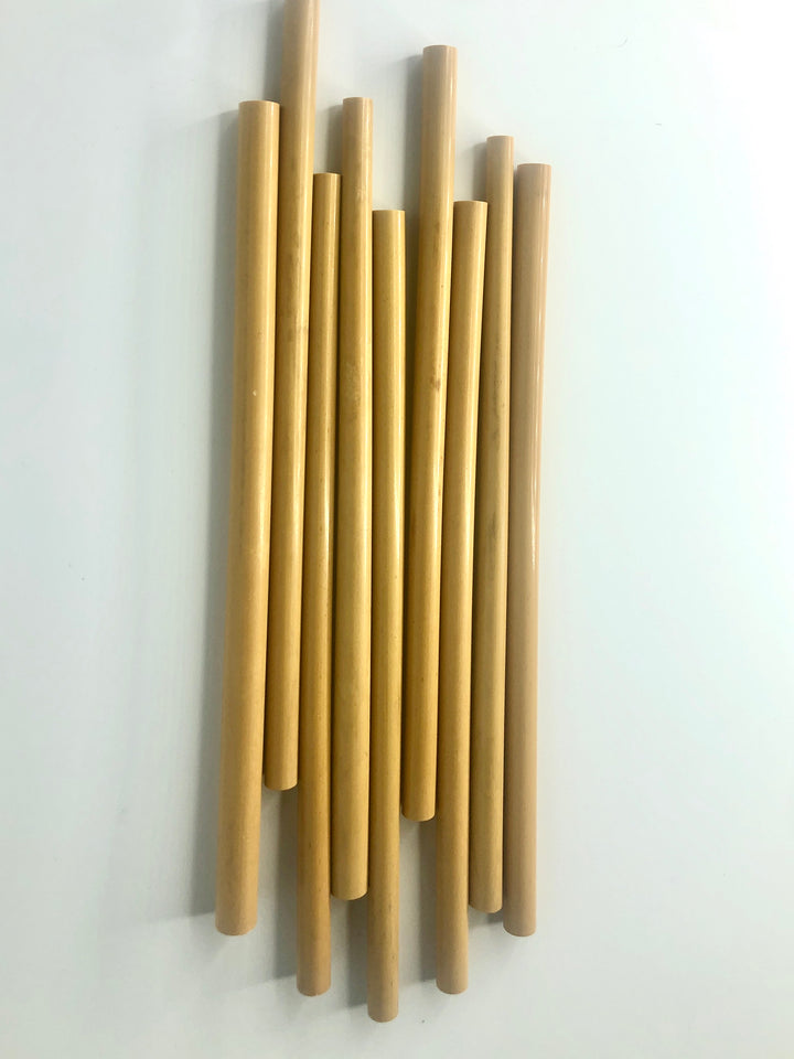 Bulk - Bamboo Straws (single)