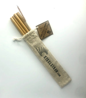 Wholesale Bamboo Straws Gift Set