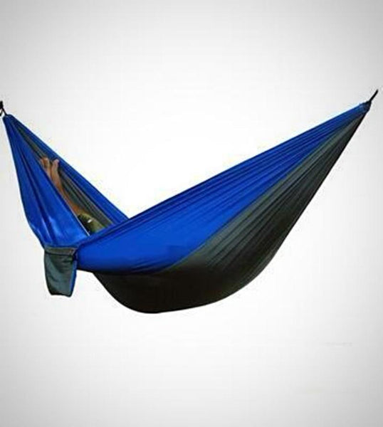 "Double Camping Hammock - Lightweight Nylon Portable Hammock, Best Parachute Double Hammock For Backpacking, Camping, Travel, Beach, Yard. 118""(L) x 78""(W)"
