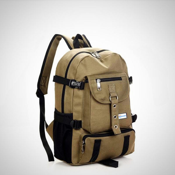 Canvas Shoulder Strap Backpack
