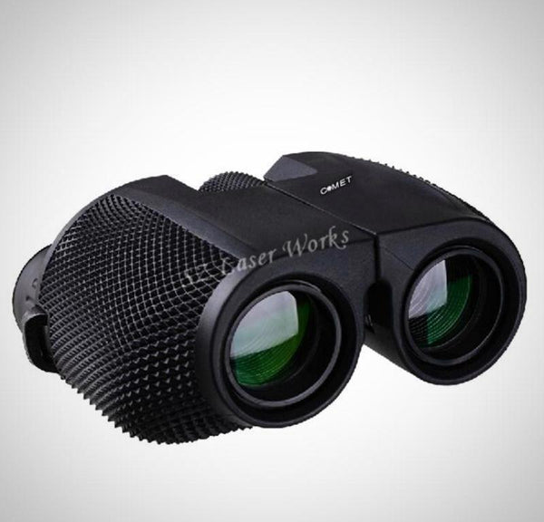 Comet 10X25 HD All-Optical Green Film Waterproof Binoculars