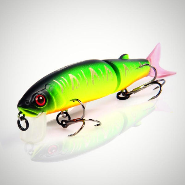 Bearking Fishing Lure Minnow Quality Professional Bait Swim Bait Jointed Bait 11.3cm 13.7g