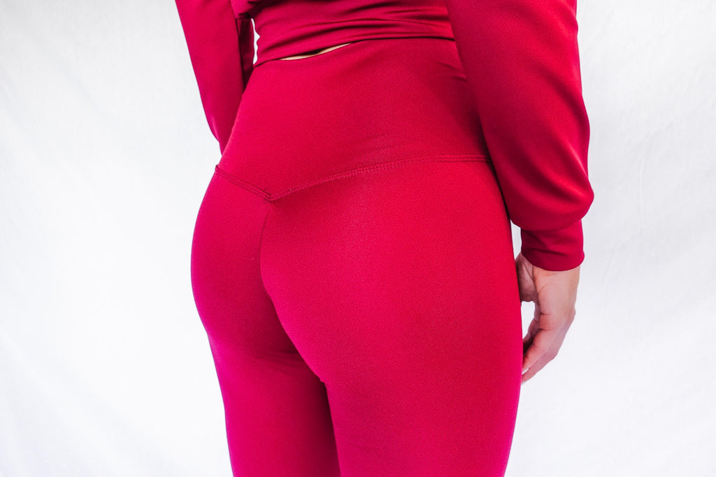 MERLOT HIGH WAISTED LEGGINGS