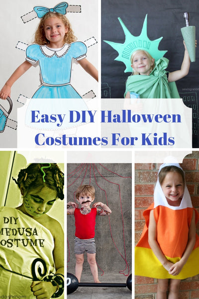 10 Quick and Easy DIY Halloween Costumes