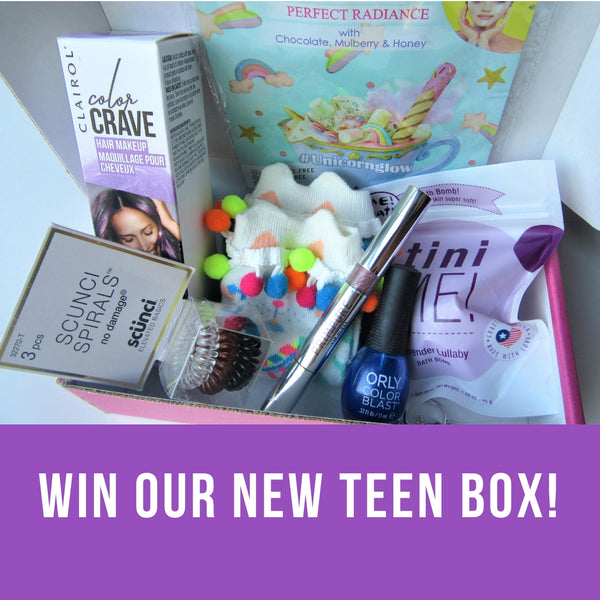 New Teen Boxes + A Giveaway!