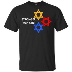 Stronger Than Hate T Shirt Pittsburgh Strong T-Shirt