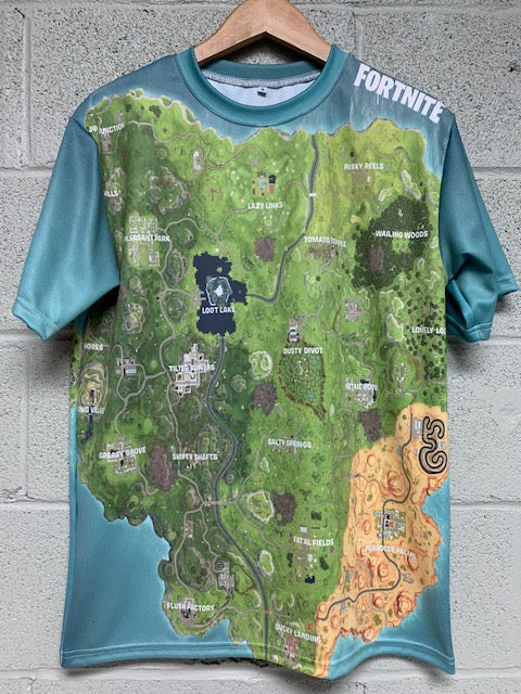 Fortnite Season 6 Map T shirt