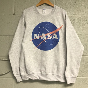 NASA Meatball Heather Gray Sweatshirt