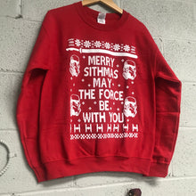 Star Wars merry Sithmas may the force be with you Men's Ugly Christmas Sweatshirt Red