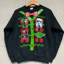 Star Wars Men's Ugly Christmas Sweatshirt Black