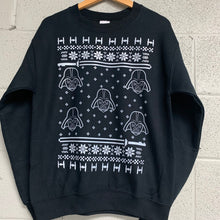 Star Wars Darth Vader Men's Ugly Christmas Sweatshirt Black
