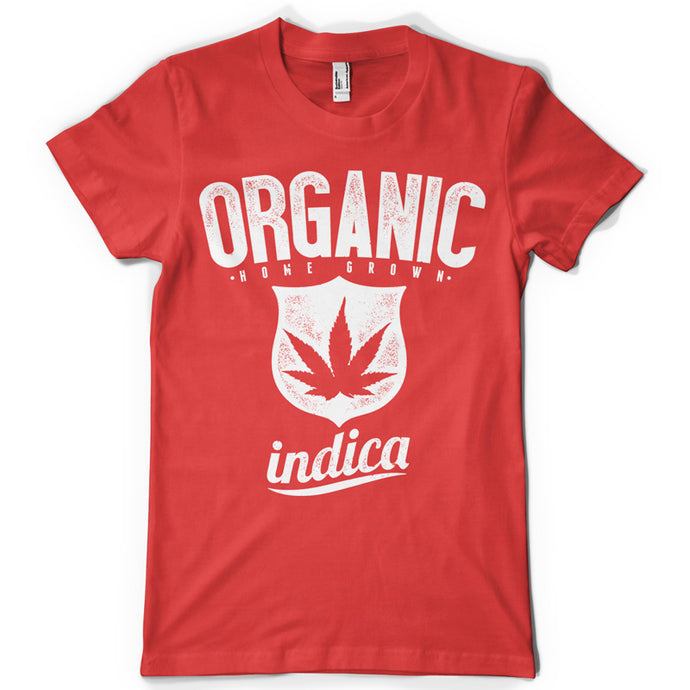 Indica life inspiration T shirt Print on American Apparel Men's Shirt