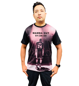 KOBE BRYANT LOS ANGELES MAMBA OUT Unisex Shirt