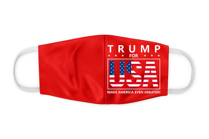 Trump For USA Face Mask