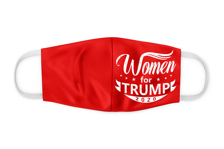 Women For Trump Face Mask
