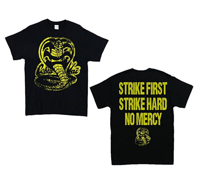 Cobra Kai Karate Men Black T Shirt