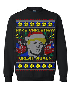 Donald Trump Make Christmas Great Again Ugly Christmas Sweater Christmas Sweatshirt