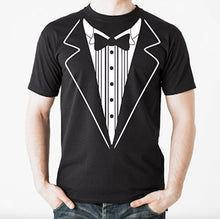 Tuxedo T Shirt TUX Funny Prom Wedding Groom Costume Outfit T shirt Tee S-3XL NEW