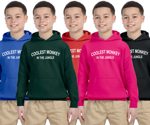 Coolest monkey in the jungle Coolest monkey in the jungle Hoodie Kid Size