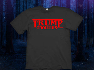 Trump Shithole shirt Make America Great Again shirt The Upside Down Stranger Things Shirt  Tee Top The Upside Down T Shirt Tee Top - Eleven
