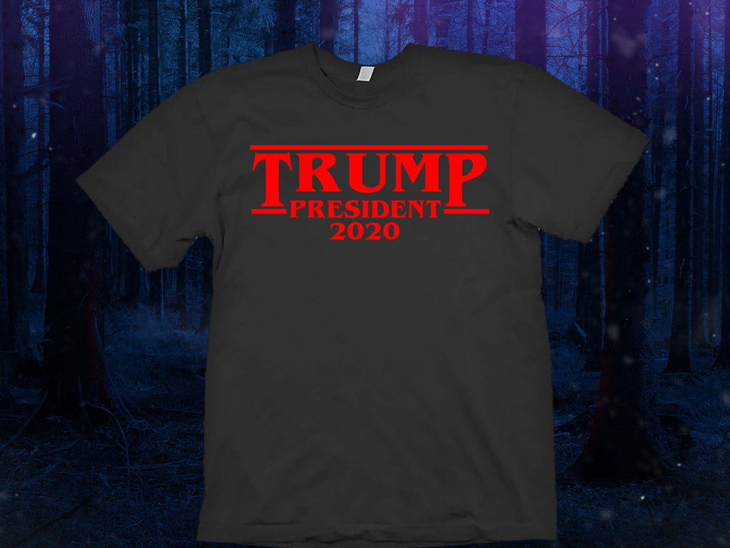 Trump 2020 shirt Make America Great Again shirt The Upside Down Stranger Things Shirt  Tee Top The Upside Down T Shirt Tee Top - Eleven
