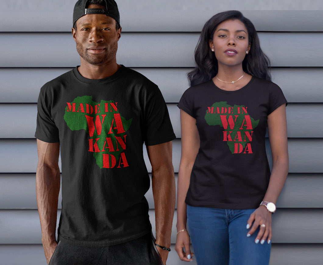 Made in Wakanda Shirt T-Shirt wakanda Shirt , black panther Shirt Men Women Kid T shirt