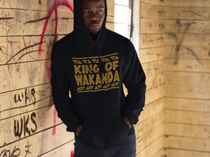 5d991b0c2 King of Wakanda Queen of Wakanda Hoodie Shirt T-Shirt wakanda Shirt , black  panther