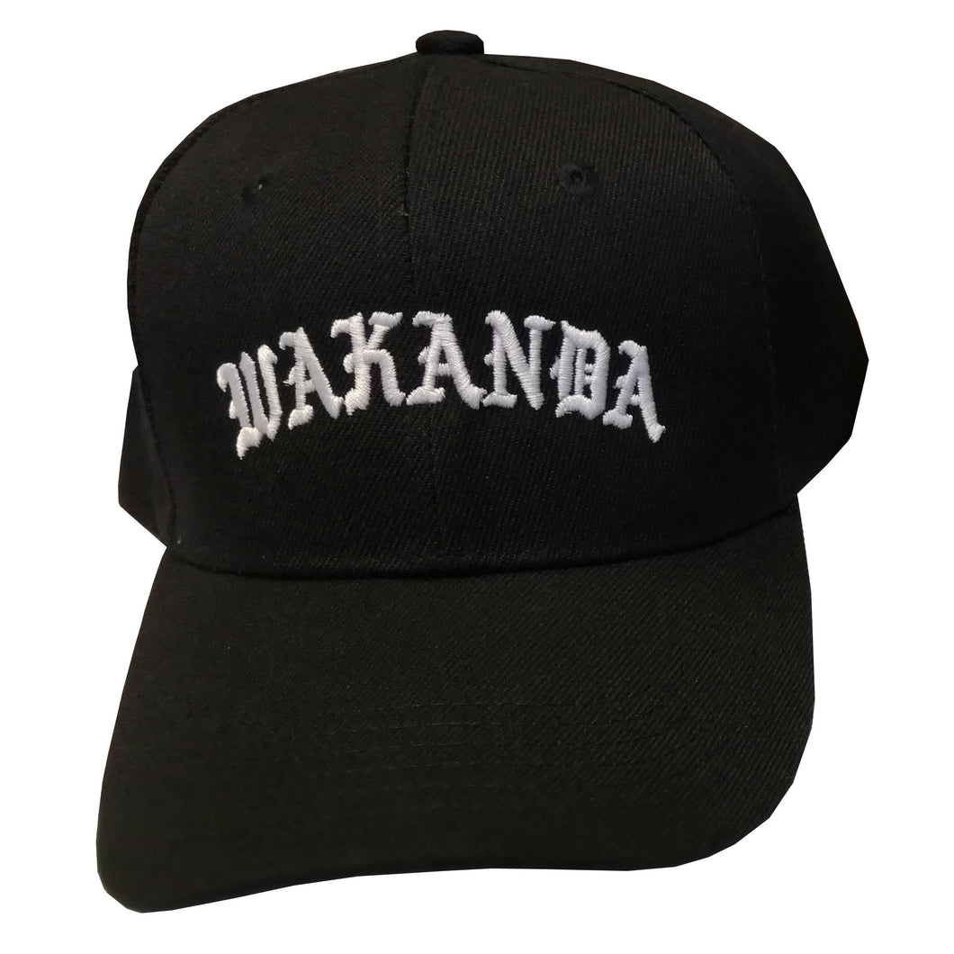 Wakanda Hat Wakanda Cap Black Panther Hat Black Panther Cap Black Hat
