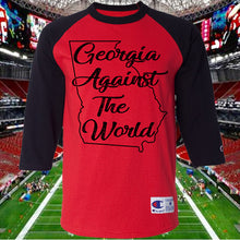 Georgia Against The World Georgia Fan Raglan shirt
