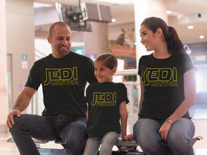 jedi master shirt star wars shirt matching shirts dad and son personalized matching shirts dad and son shirts Black T shirt