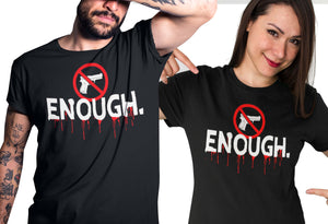 Enough Never Again Shirt Gun Control T Shirt anti gun tshirt end gun violence, teacher protest t-shirt, gun reform tshirt, political t shirt