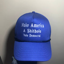 Trump Hat Make America A Shithole Make America Great Again Trump Cap Blue Hat
