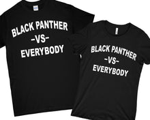 black panther VS Everybody Shirt T-Shirt wakanda Shirt , black panther Shirt Men Women Kid T shirt
