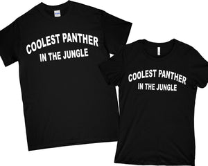 Coolest Panther in the Jungle Shirt T-Shirt wakanda Shirt , black panther Shirt Men Women Kid T shirt