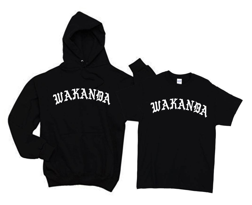 Wakanda Shirt Hoodie T-Shirt Black Panther Shirt Hoodie wakanda Shit black panther Shirt black panther Hoodie Men