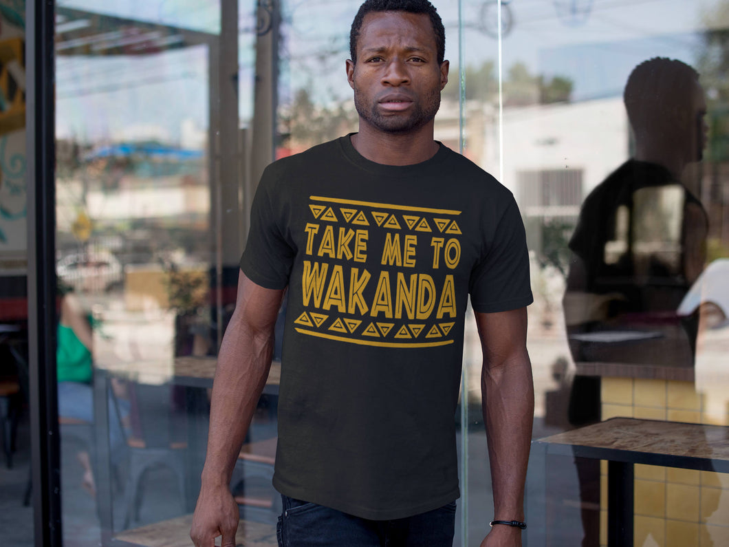 Take me to Wakanda Shirt T-Shirt wakanda Shirt , black panther Shirt Men Women Kid T shirt