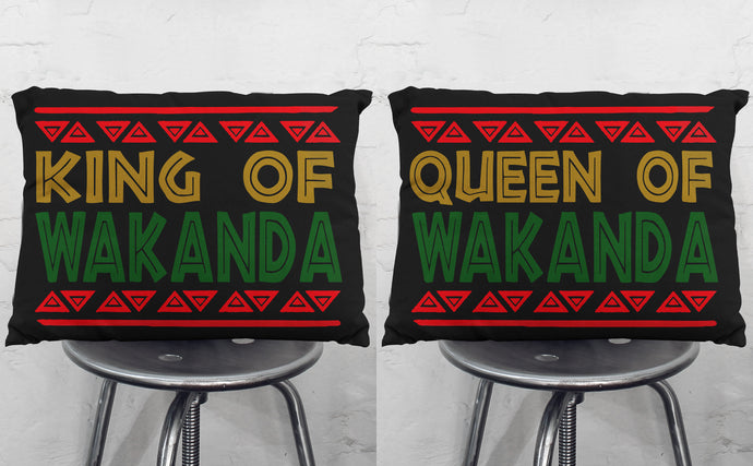 Black Panther Pillow case, Wakanda Pillow case Standard Size, Wakanda PillowCases