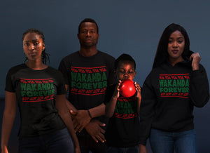 Wakanda Forever Shirt T-Shirt wakanda Hoodies , black panther Shirt Black Panther Hoodies Men Women Kid T shirt