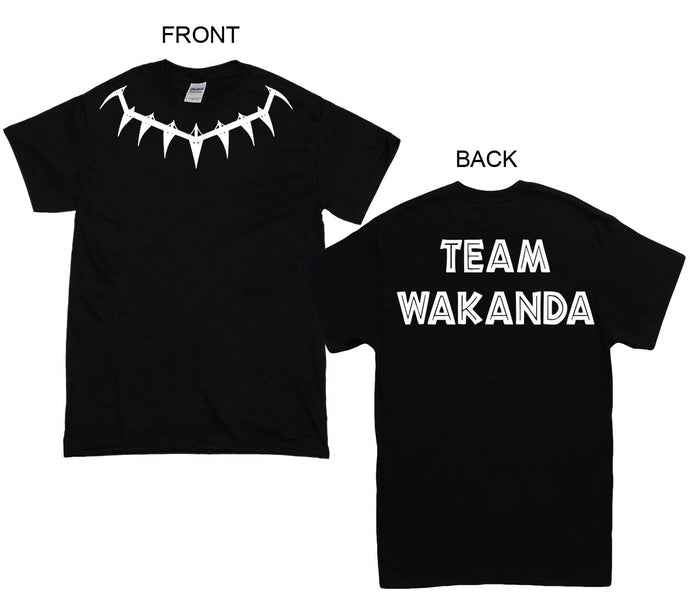 TEAM WAKANDA Shirt T-Shirt wakanda Hoodies , black panther Shirt Black Panther Hoodies Men Women Kid T shirt