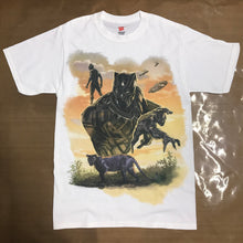 Black Panther Wakanda Original Artwork print on T shirt Men Women Kid Shirt T shirt